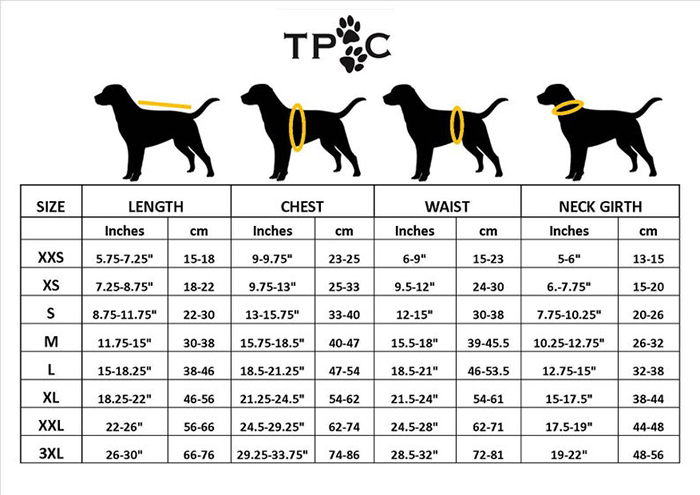 dog measurement reference