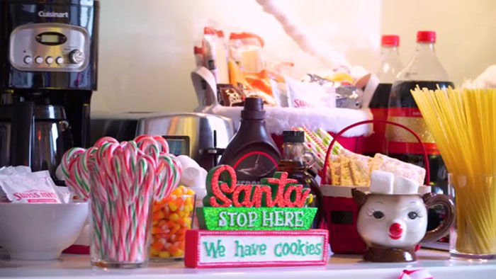 festive elf feast at the winter wonderland suite