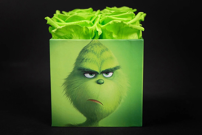 frowning grinch boxface