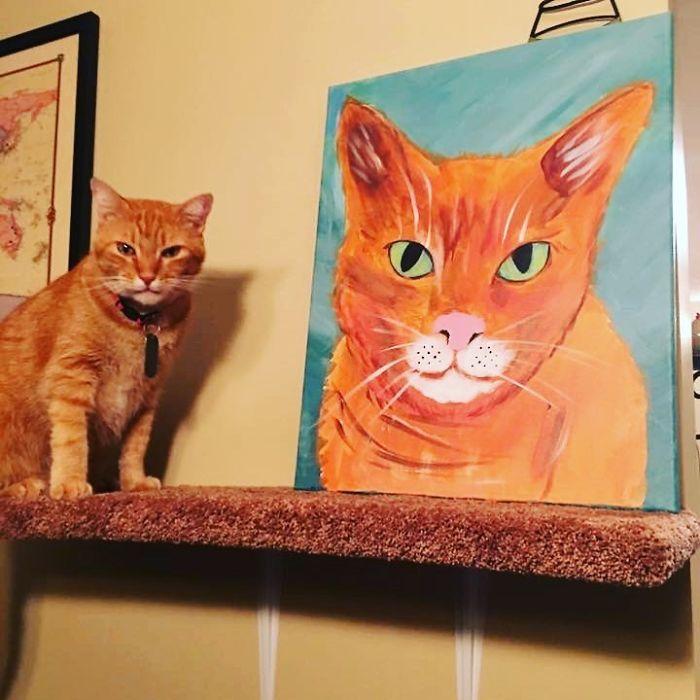 gambino bambino cat says well hi