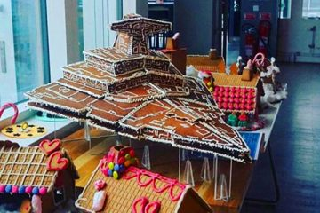 gingerbread Imperial Star Destroyer