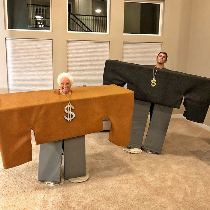 granny grandson comic duo roblox