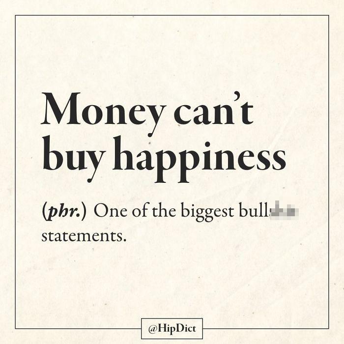 hilarious definitions money