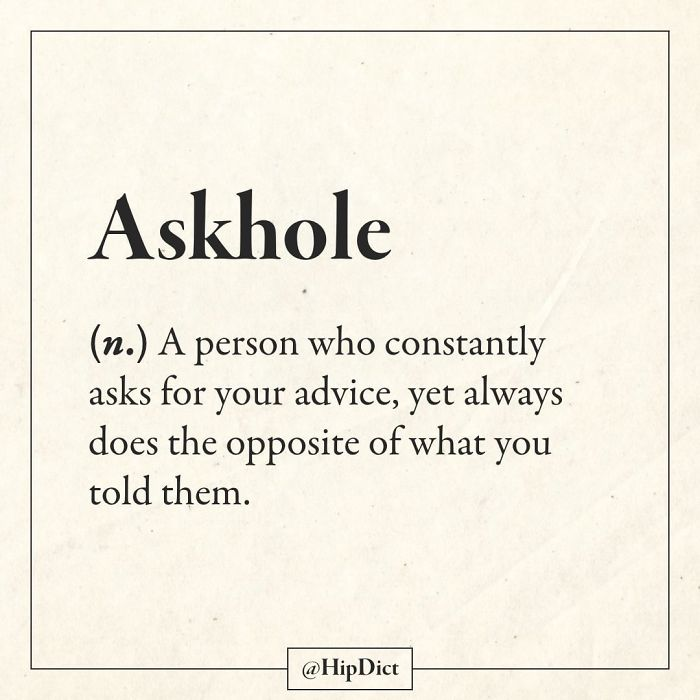 hipdict funny word meanings askhole