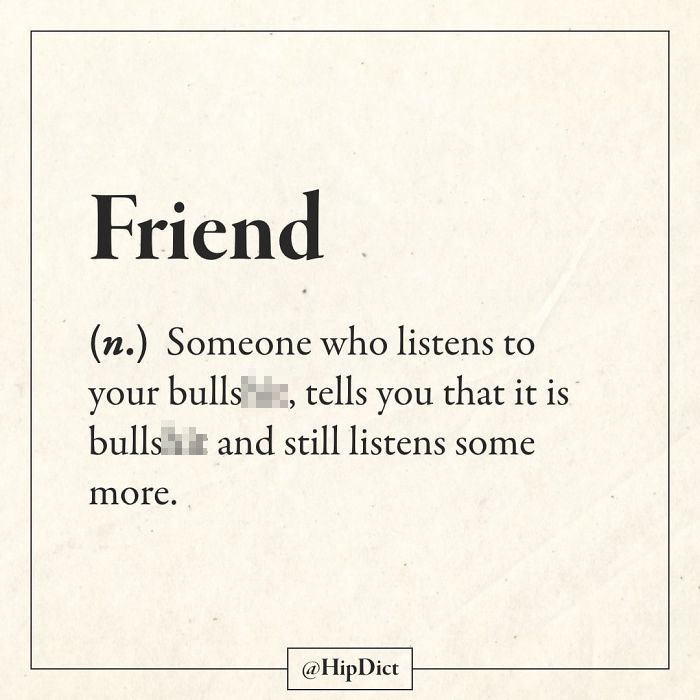 hilarious dictionary definitions friend