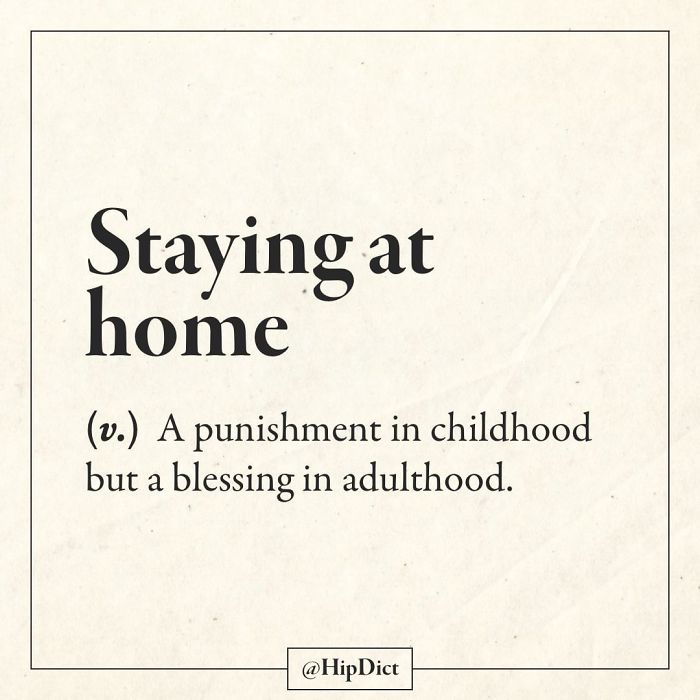 hipdict funny word meanings staying at home