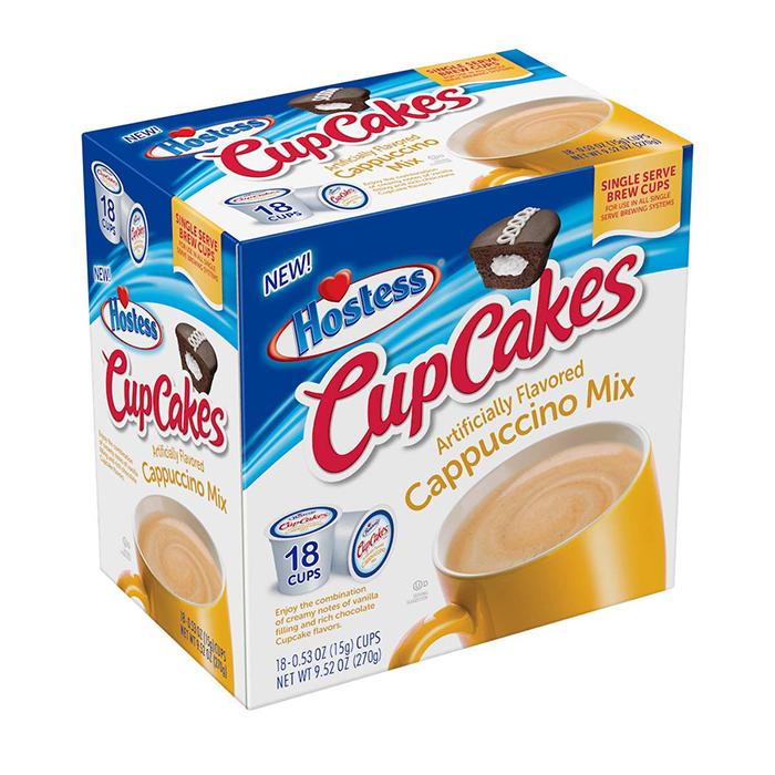 hostess cupcakes cappuccino mix