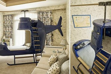 kids Helicopter bed