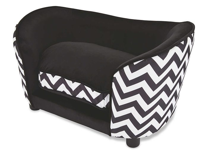 luxury sofa bed for dogs black