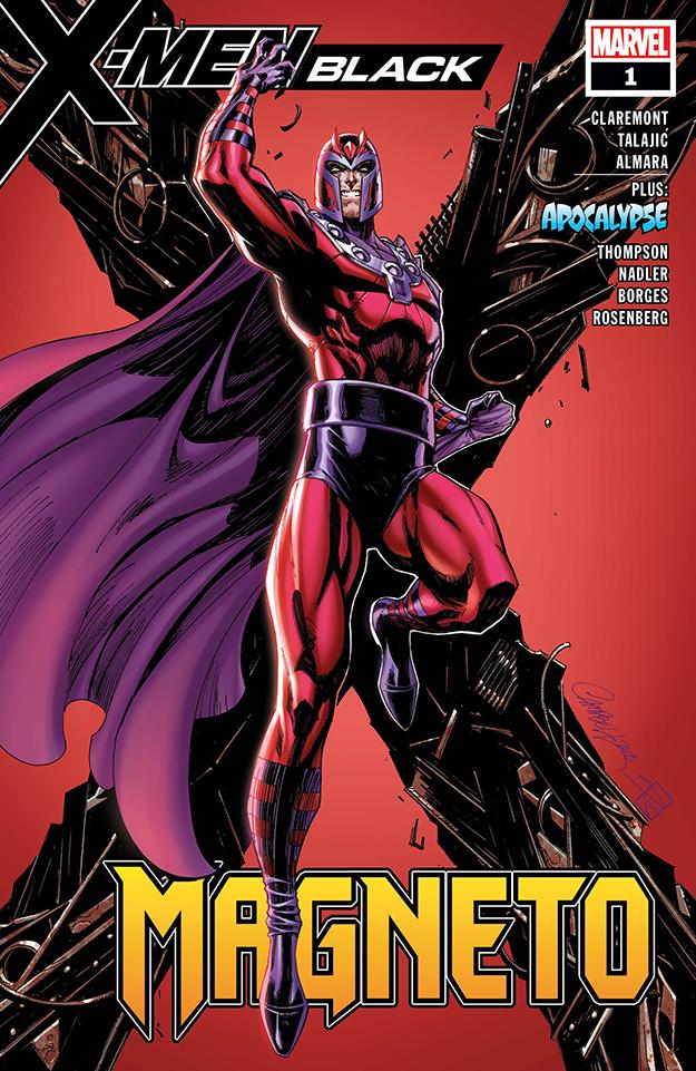 magneto 2018 comic cover