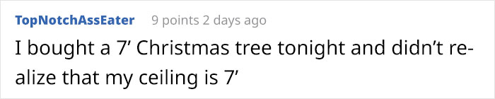 man photoshops christmas tree comment topnotchasseaster