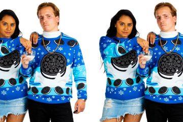 matching Oreo Ugly Christmas Sweater