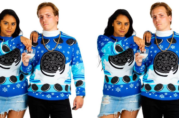 matching Oreo Ugly Christmas Sweater