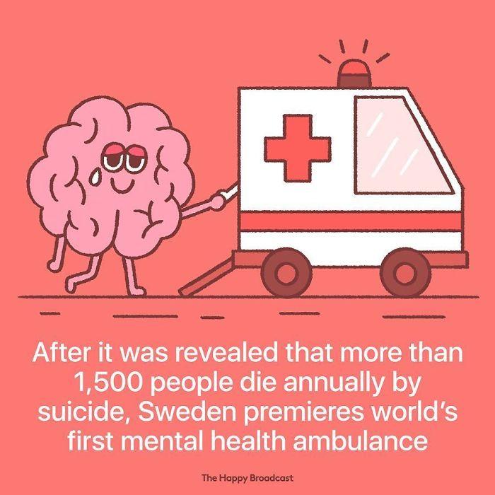 mauro gatti illustrations first mental health ambulance