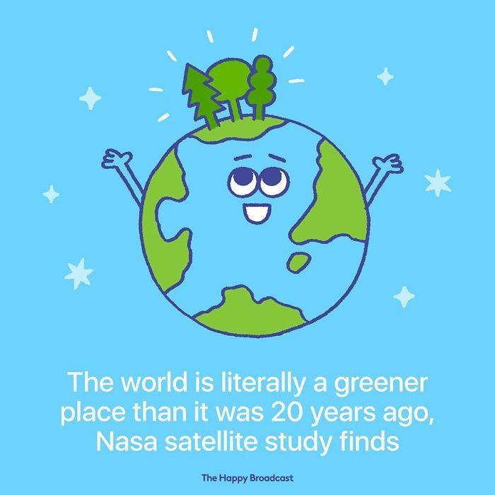 mauro gatti illustrations greener world nasa
