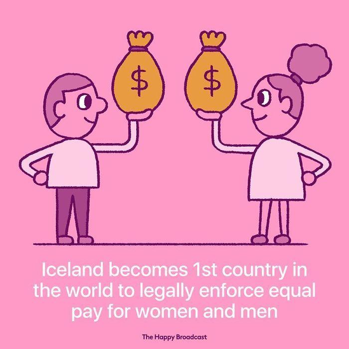 mauro gatti illustrations iceland gender equality