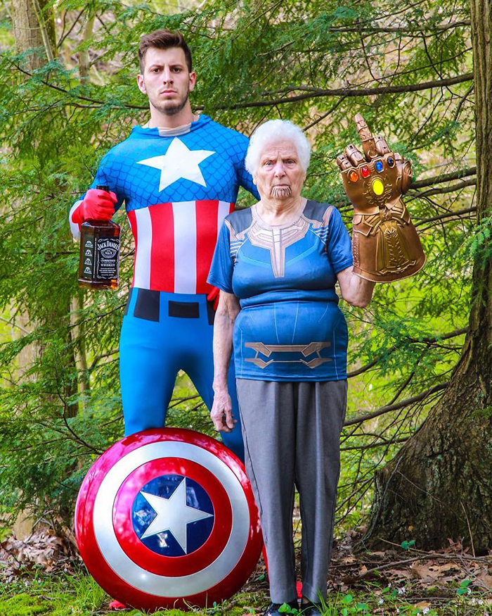 ross smith granny the avengers