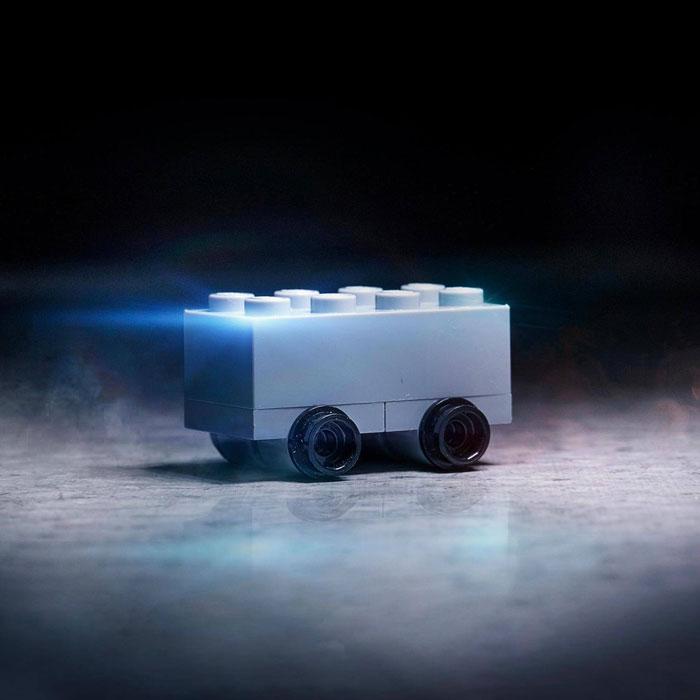 shatterproof LEGO truck by LEGO Australia