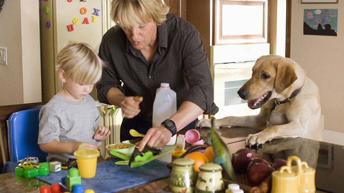 still from Marley and Me