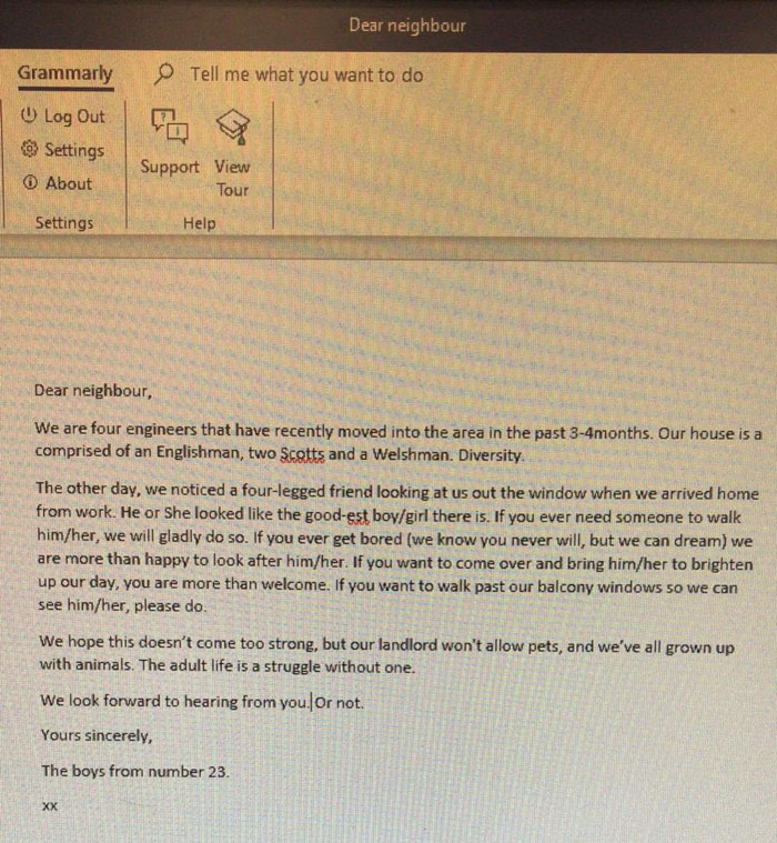 the boys letter to stevie ticks owners