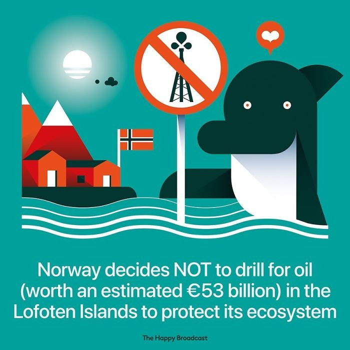 the happy broadcast norway protects ecosystem