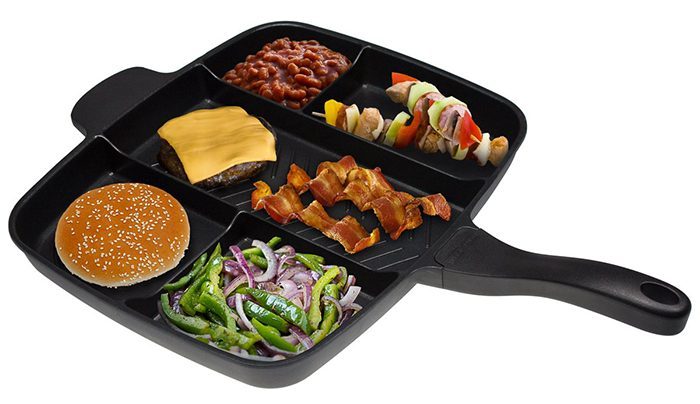 the master pan 5 compartments