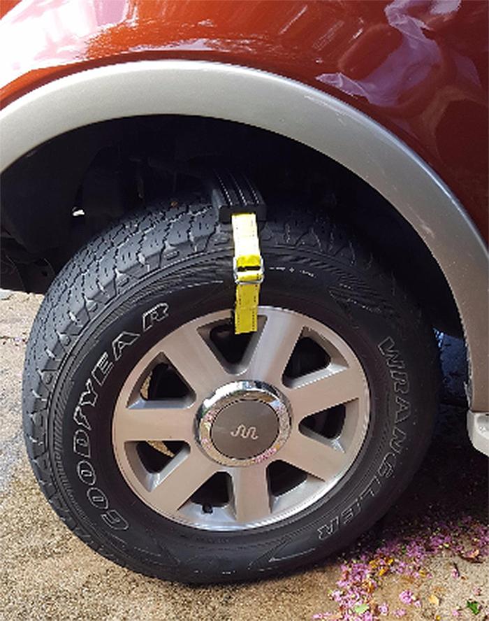 trac-grabber tire traction device