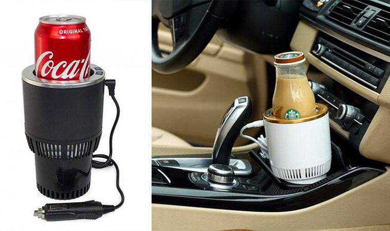 2-in-1 car cup holder
