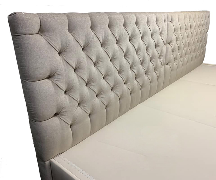 Ace Collection Curved Tufted Headboard