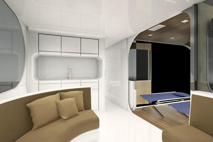 Additional Sleeping Quarters Interior Concept