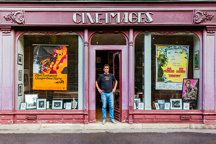Alexandre Boyer at Cine Images Storefront