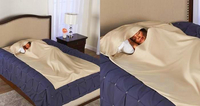 Anti-bacterial sleeping cocoon