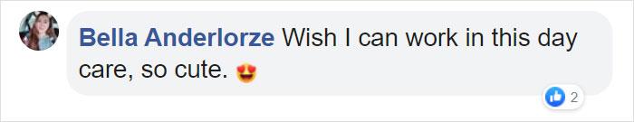 Bella Anderlorze Facebook Comment
