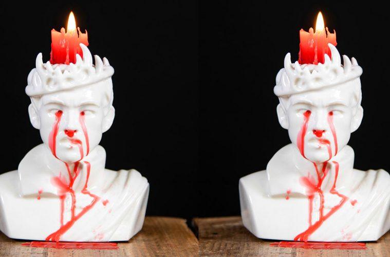 Bleeding Joffrey Candle