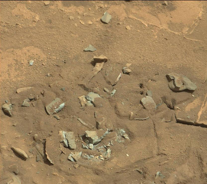Bone up on Mars Rock Shapes