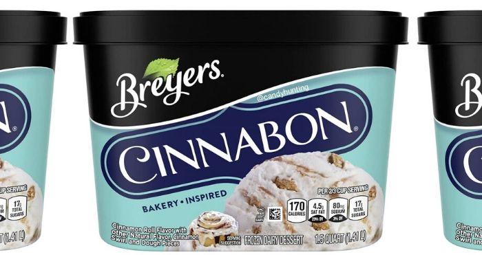 Breyers Cinnabon Ice Cream