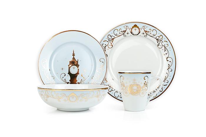 cinderella dinnerware set