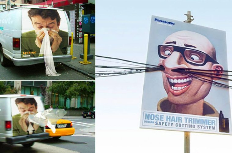 Creative advertising Signs And Posters