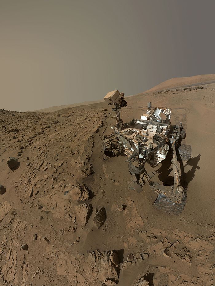 Curiosity Self-Portrait At Windjana Drilling Site