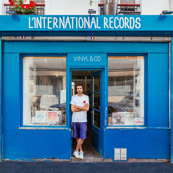 Dave Kouliche at L'International Records Storefront