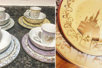 Disney-Themed Dinnerware set