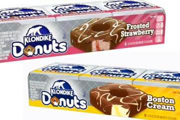 Donut Ice Cream bars