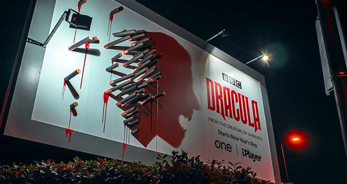Dracula Shadow billboard