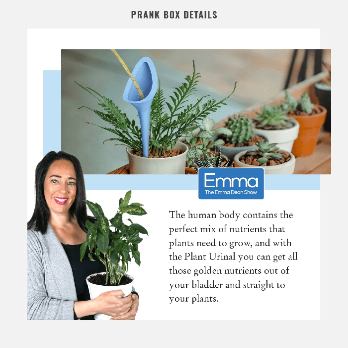 Emma Dean's Explanation on Plants' Needs