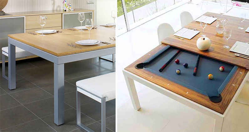 Fusion Pool Tables Convert Into