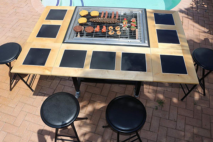 Outdoor 3-in-1 Cooking Table