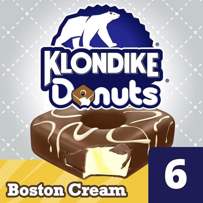 Klondike Donut Ice Cream Bar Boston Cream Ad