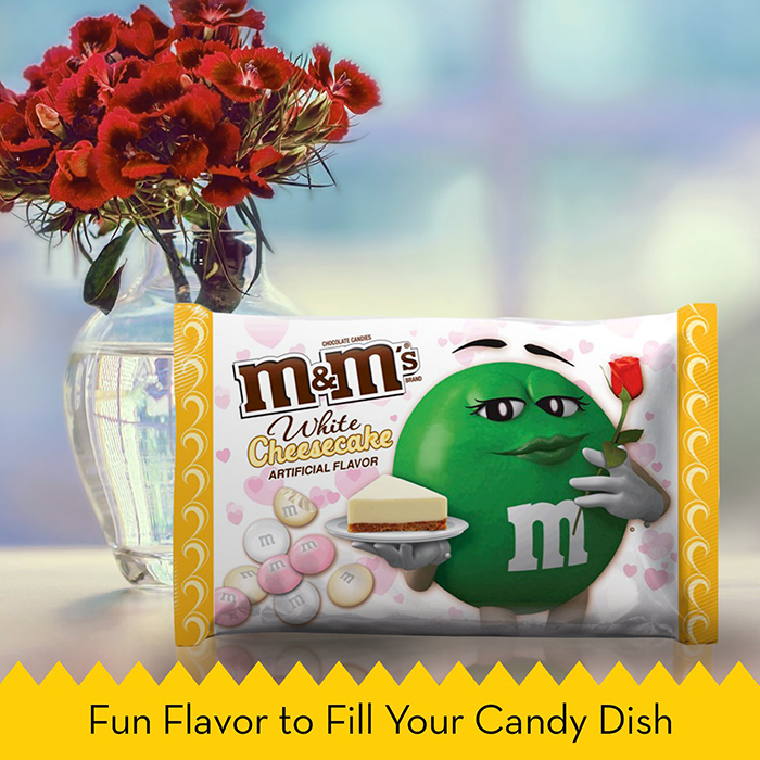 M&M's Valentine's Day Seasonal Flavor Ad Fun Flavor to Fill Your Candy Dish