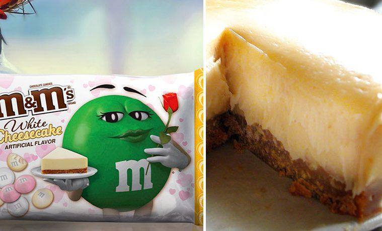 M&M's White Cheesecake Flavor