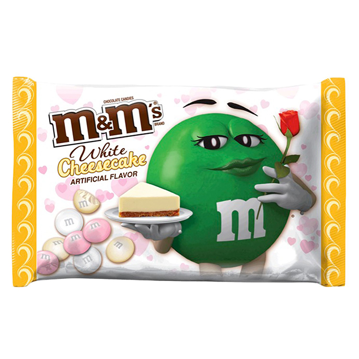 M&M's White Cheesecake Flavor Packaging